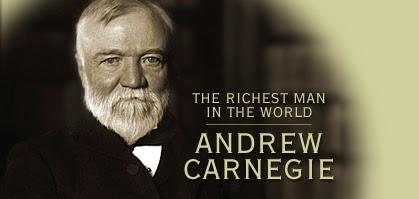 Come diventare ricco Andrew Carnegie