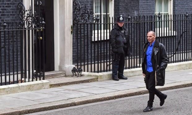 Ministro delle finanze greco Yanis Varoufakis