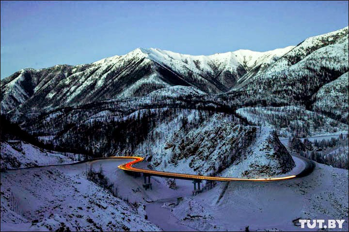 la nuova ferrovia transiberiana