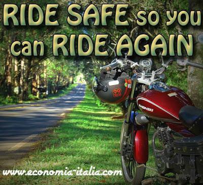 come guidare sicuro in moto
