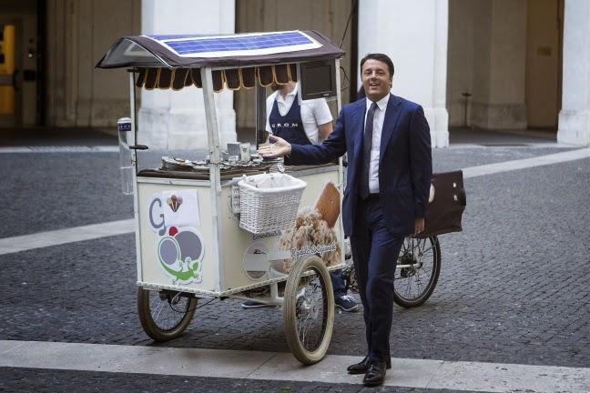 Venditore ambulante di panini