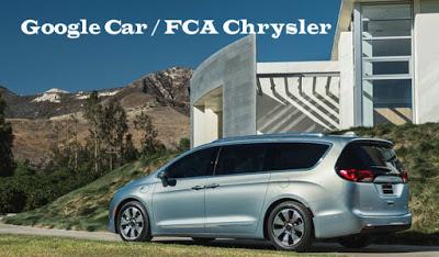 La Google Car senza pilota sarà FCA Chrysler (FIAT)