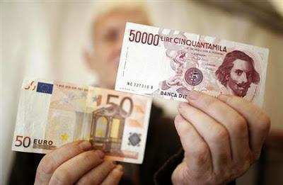 Come uscire dall'Euro e tornare alla Lira - conseguenze