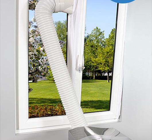 Condizionatori d 39 aria portatili senza tubo esterno o tradizionali quale scegliere economia - Guarnizione finestra per condizionatore portatile ...