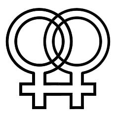 Tatuaggio per gay e ragazze lesbiche