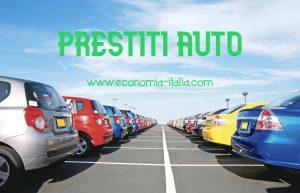 prestiti per auto nuove