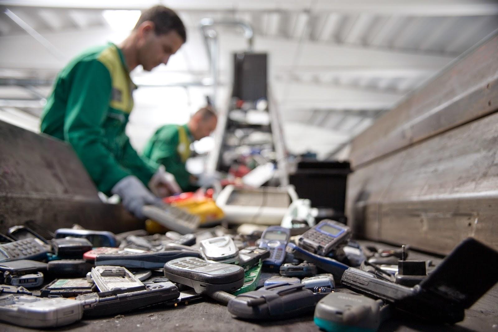 oro e argento nei rifiuti elettronici