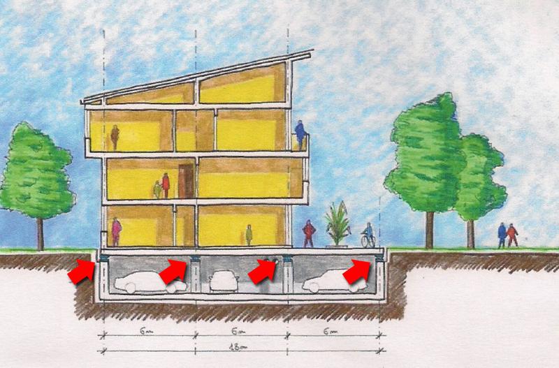 Adeguamento sismico di casa e edifici esistenti with come for Quanto costa una casa a un piano