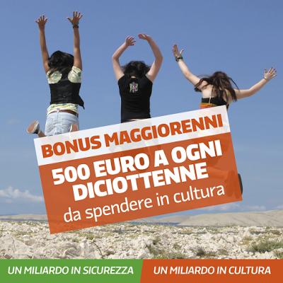 Come avere i 500 euro del Bonus Maggiorenni diciottenni 18 enni