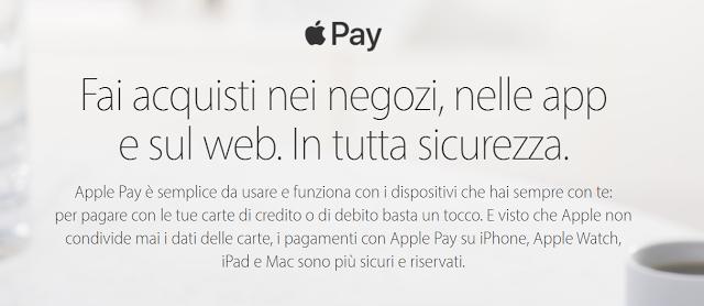 apple pay cos'è e come funziona guida completa