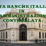 banche italiane in amministrazione controllata