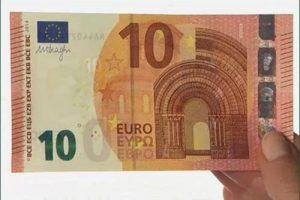 Come riconoscere le nuove banconote da 10 euro