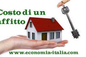 quanto costa affittare una casa