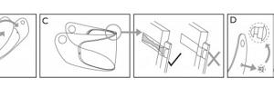 Casco appannato: soluzioni per non appannare la visiera