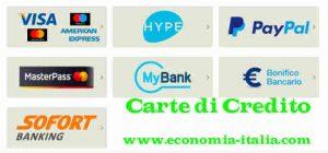 Carta di Credito migliore, più conveniente, opinioni e recensioni
