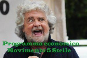 Programma economico Movimento 5 Stelle per le elezioni 2018