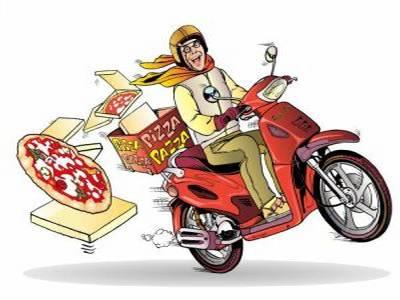 quanto costa la pizza consegnata a casa