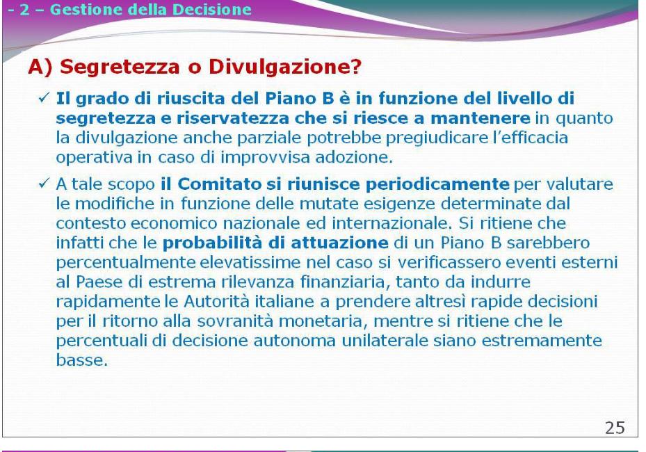 Italia Uscita dall'Euro: Piano Segreto Savona Salvini M5S