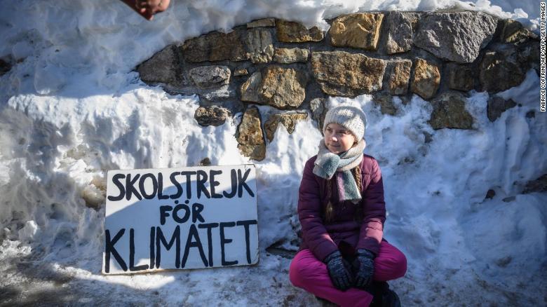 Greta ragazza svedese protesta cambiamento climatico