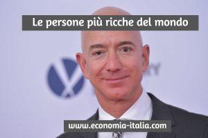 le 5 persone più ricche del mondo