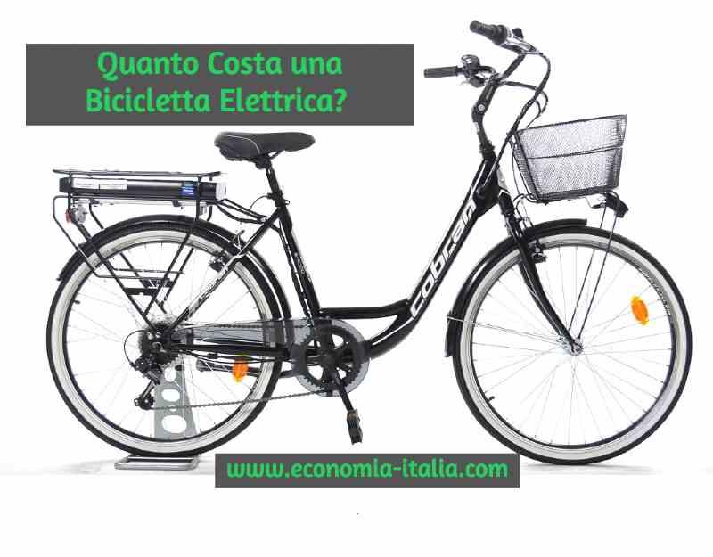 Bici Elettrica Usata Prezzo e Dove Comprare