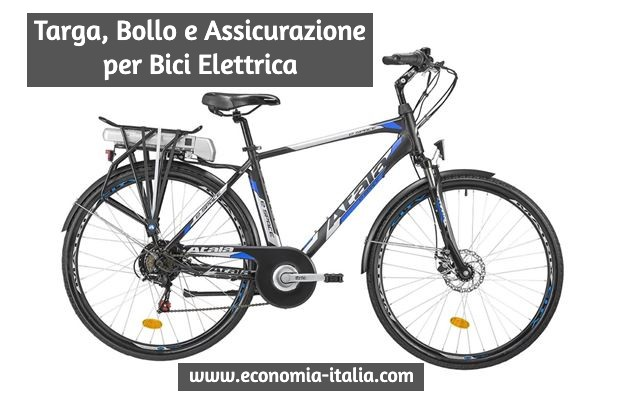 Assicurazione e Targa per Biciclette ed eBike, Cosa dice la Nuova Legge
