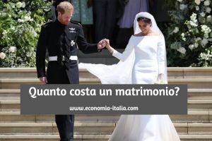 Quanto Costa un Matrimonio Oggi, nel 2020?