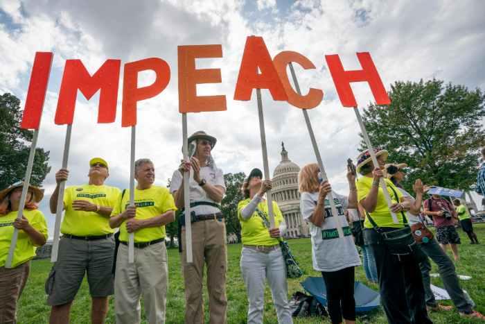 Impeachment di Trump Potrebbe essere Positivo per il Mercato Azionario