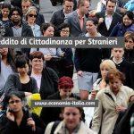Reddito di Cittadinanza per Stranieri 2020