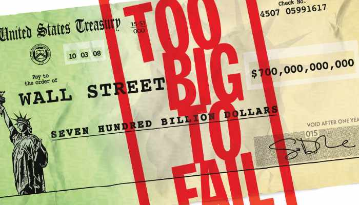 Too Big To Fail: Significato di Troppo Grande Per fallire