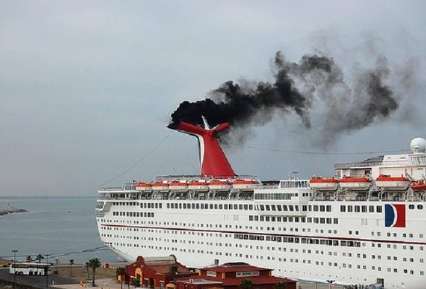 i mezzi di trasporto che inquinano di più: le grandi navi