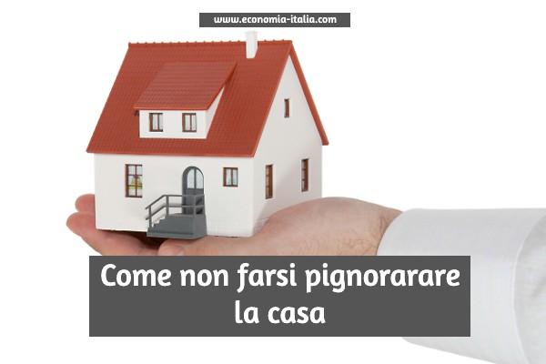 Comproprietario non debitore di casa cointestata pignorata, come proteggerlo?