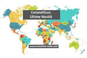 Conseguenze del Coronavirus sull'Economia quali saranno
