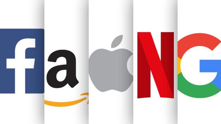 Azioni Apple, Amazon, Google, Facebook andamento Agosto 2020