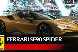 Ferrari Presenta la SF90 Spider Ibrida, la Nuova Elettrica e Benzina